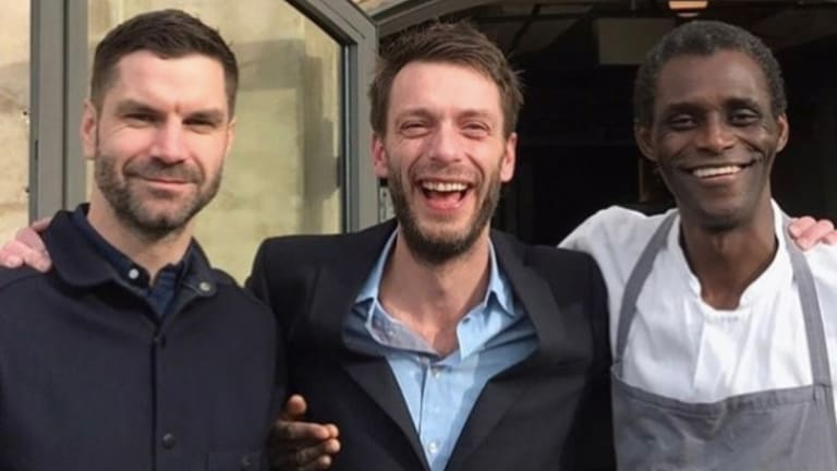 """Noma manager Australian James Spreadbury, service director Lau Richter and dishwasher Ali Sonko are now co-owners of """"the best restaurant in the world""""."""