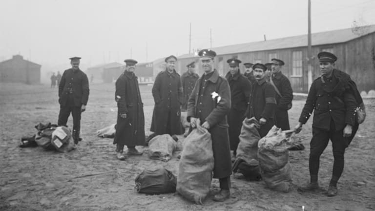 What happened to the Bullecourt prisoners of World War I?