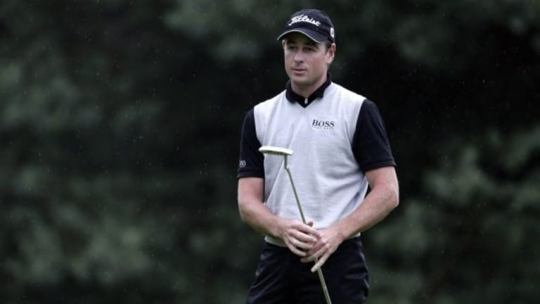WA's Brett Rumford is the defending champion at the World Super 6 in WA this week.
