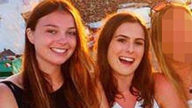 Rebecca Hannibal (left) and Georgina Bartter.