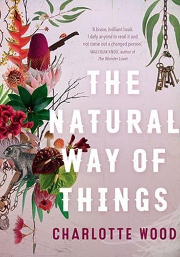 The novel explores a dystopian world.