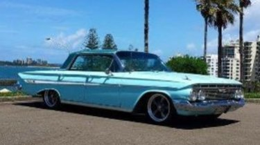 Police are searching for a missing 1961 chevrolet impala on the Sunshine Coast.