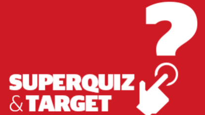 Target and superquiz, Thursday, June 27