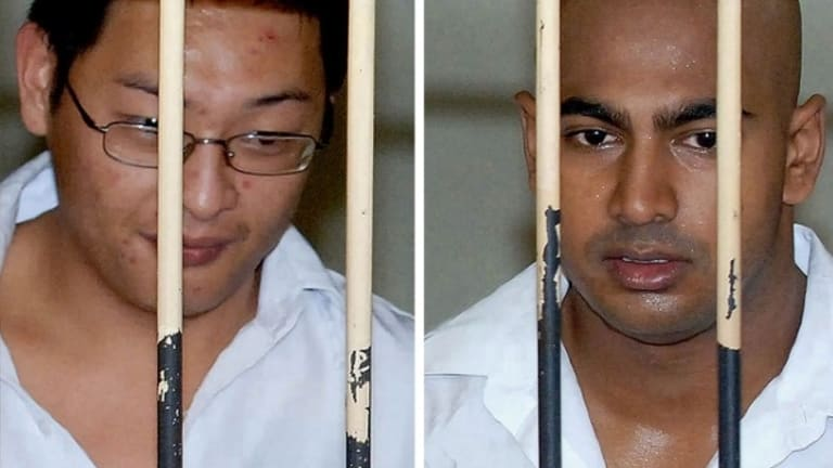Last days: Andrew Chan and Myuran Sukumaran.
