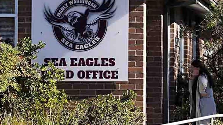 NRL investigators descended on Manly headquarters on Wednesday.