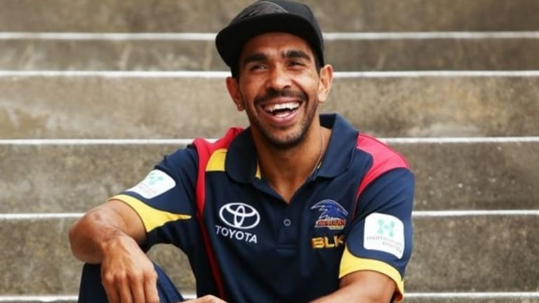 """Eddie Betts was called a """"monkey"""" and had a banana thrown at him, but people question whether it was racially motivated."""