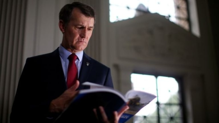 Lord Mayor Graham Quirk will release the Brisbane Metro business case on Tuesday.