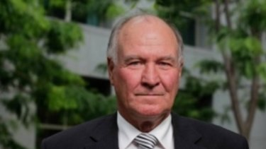 Tony Windsor is running for the seat of New England as an independent against Barnaby Joyce.