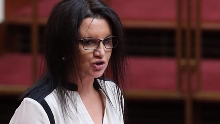 Senator Lambie said her paternal grandfather had come to Australia to enlist in the army when her father was an infant.