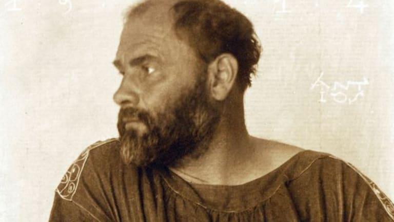 Gustav Klimt in 1914.