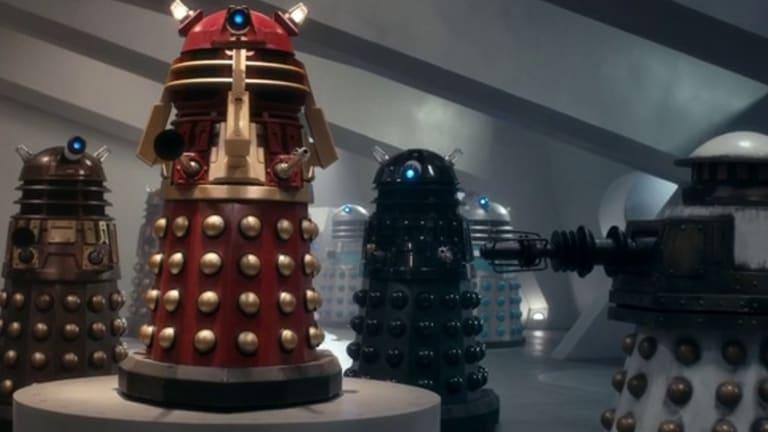 Daleks, daleks, daleks ...