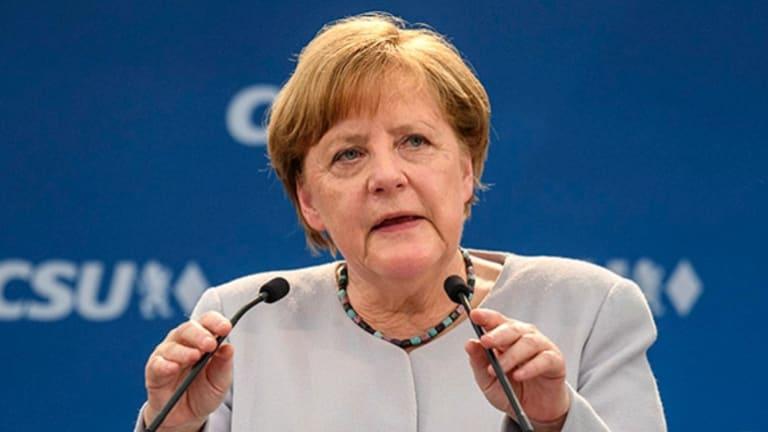 German Chancellor Angela Merkel has spoken out against Trump's decision.