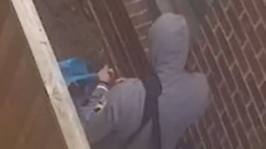 Police released images of a man they wish to speak with over a burglary in Cranbourne North.