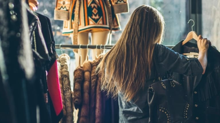 Our fashion habit is out of control. We're buying more and more clothes, at cheaper and cheaper prices, and it's unsustainable.