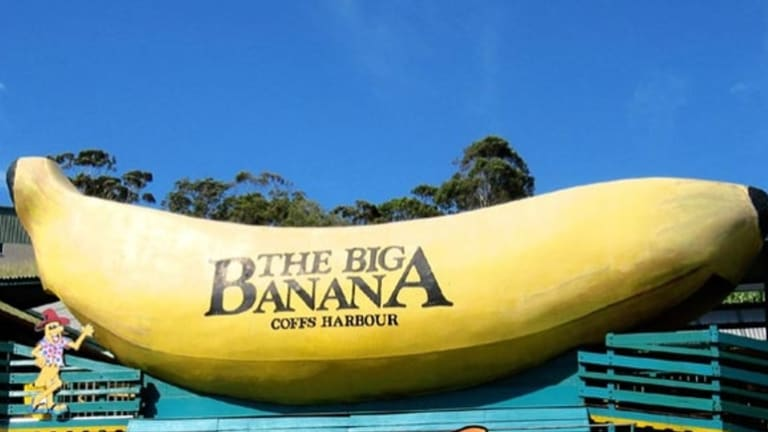 The Big Banana at Coffs Harbour, NSW.