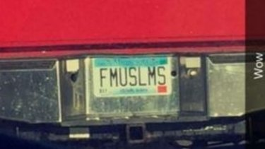 The offensive plate.