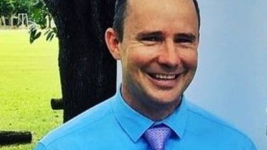 Nathan Barrett, MP for Blain on Darwin's southern outskirts, defended the use of spit hoods and restraint chairs