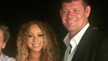 James Packer's most recent romantic interest is singer Mariah Carey.