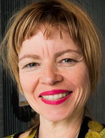 Esther Charlesworth says architects can help to solve ''the big challenges of our time'', but are not at the decision-making table.