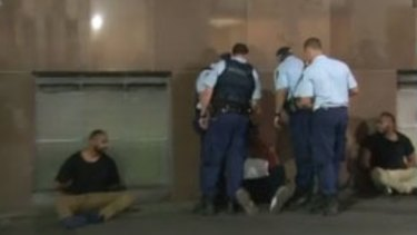 Police are still investigating the cause of the brawl that involved up to 30 people.