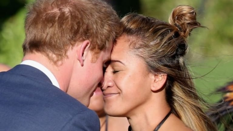 """Ohinemataroa Iti-Kereopa said the attention surrounding her hongi photo with Harry was """"buzzy and crack-up""""."""