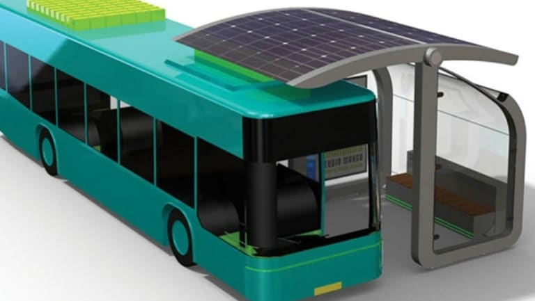 Greens Brisbane lord mayoral candidate Ben Pennings wants to introduce a 200-strong fleet of solar-powered buses.