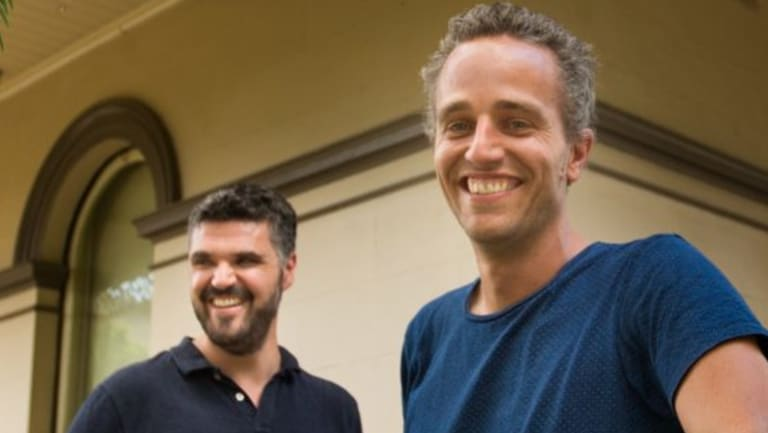 Tosh Szatow, right, and Alex Houlston are the men behind Energy for the People and they want to save your money as well as saving the planet.