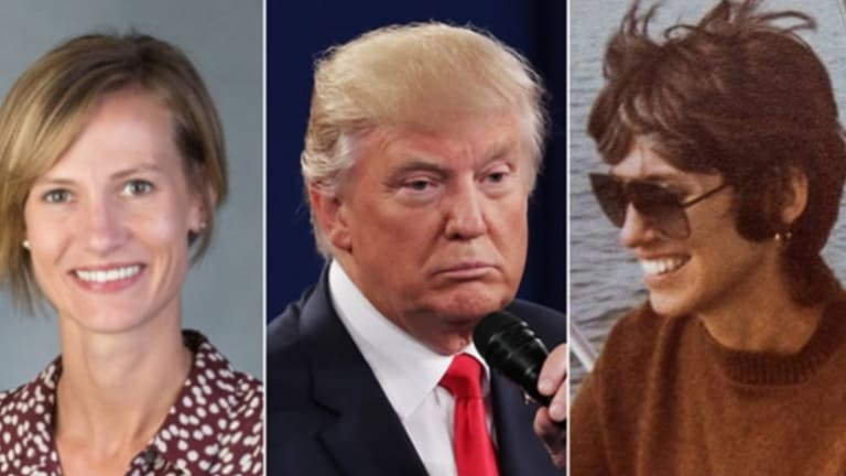 Rachel Crooks (left) and Jessica Leeds (right) were two of the first women to make sexual assault claims against Donald Trump.
