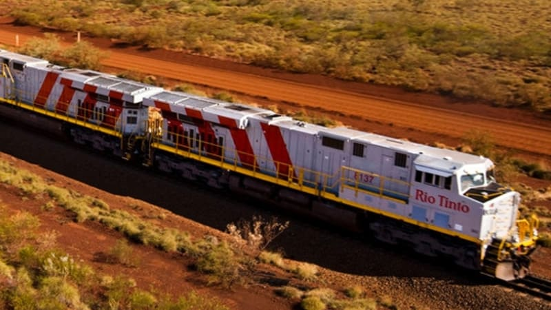 Rio Tinto arrives at automated rail completion