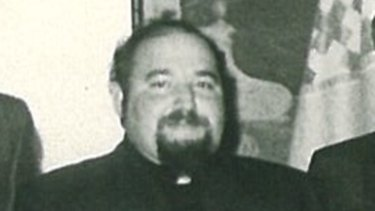 Disgraced paedophile priest Peter Rushton asked another priest to destroy six bags of pornography.