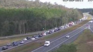 Brisbane Traffic: Bruce Highway crash delays Sunshine Coast trips