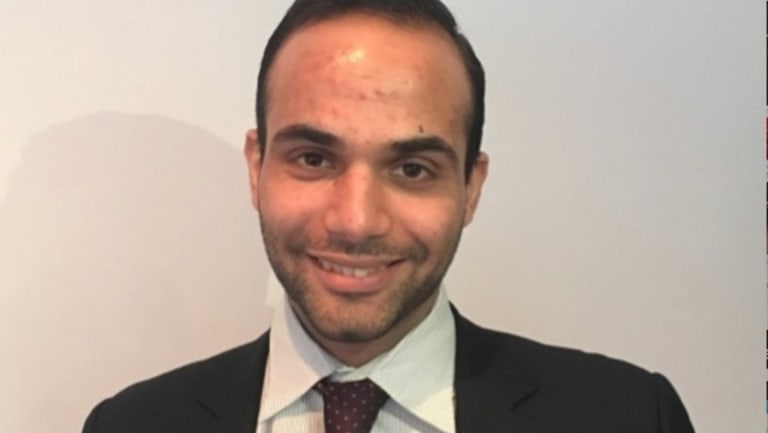George Papadopoulos, a former foreign policy adviser to Trump, was dismissed as a low-ranking volunteer after he pleaded guilty to lying to the FBI.