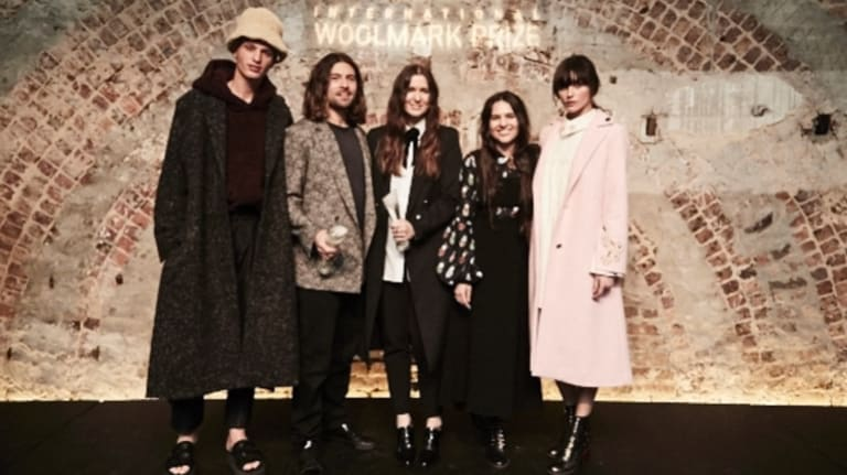 Exinfinitas and macgraw are the menswear and womenswear winners of the 2016/17 International Woolmark Prize Australia & New Zealand regional final.
