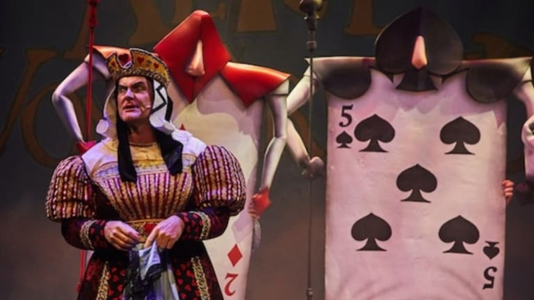 Lewis Carroll's children's classic <i>Alice in Wonderland</i> comes to life on stage.