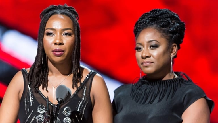 Black Lives Matter founders Opall Tometi and Alicia Garza.