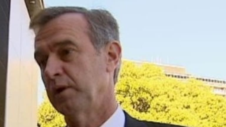 Local Government Minister Tony Simpson resigned from Cabinet on Saturday morning.