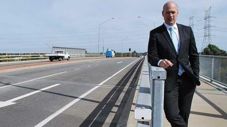 Transport Minister Dean Nalder has quit Cabinet.