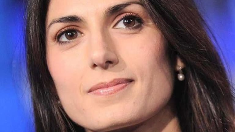 Virginia Raggi. the Five-Star Movement's candidate for mayor of Rome.