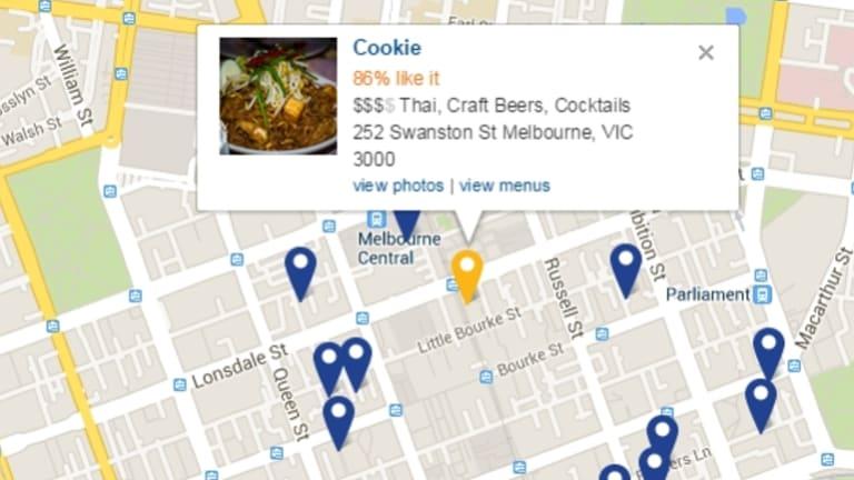 Popular foodie app Urbanspoon relies heavily on Google Maps.