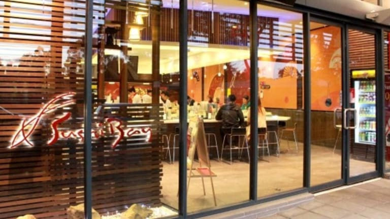 Sushi Bay Belconnen has been accused of underpaying staff more than $18,000 over one year.