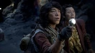 Enjoyably excessive​: Huang Bo as buffoonish hero Wang Kai Xuan in <i>Mojin: The Lost Legend</i>.