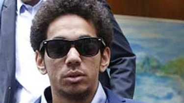 Junaid Thorne, whose brother has been arrested in Cairns. Junaid is not one of those arrested.