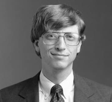 Bill Gates: from a computer hack at university to a pioneer of personal computers.