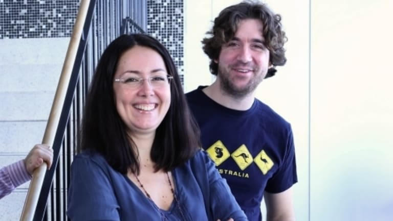 Fun pays off: Isabella Dobrescu and Alberto Motta, from UNSW,  have made the world's first video game based on microeconomics.