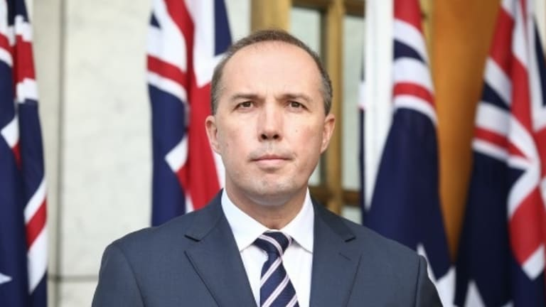 Immigration Minister Peter Dutton's attack on Fairfax Media failed to gain the support even of his own ministerial colleagues.