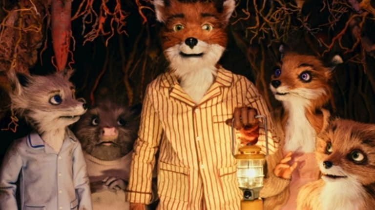 Wes Anderson experiments with stop-motion in  Fantastic Mr Fox<.