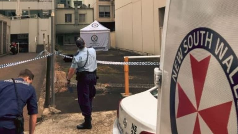 The woman's body was found early on Monday morning.