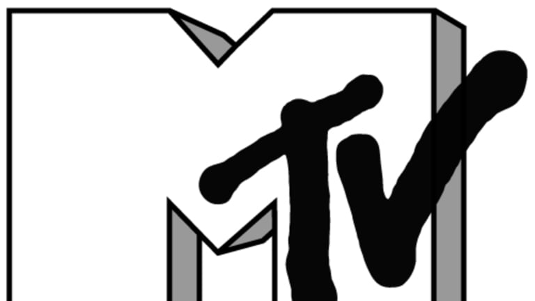 New direction: In 2010, MTV sliced the words 'Music Television' off its logo.