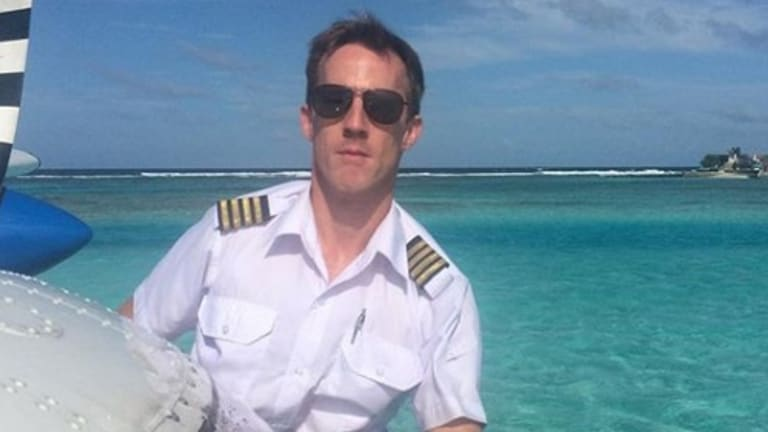 Gareth Morgan, 44, the pilot of the Sydney Seaplane.