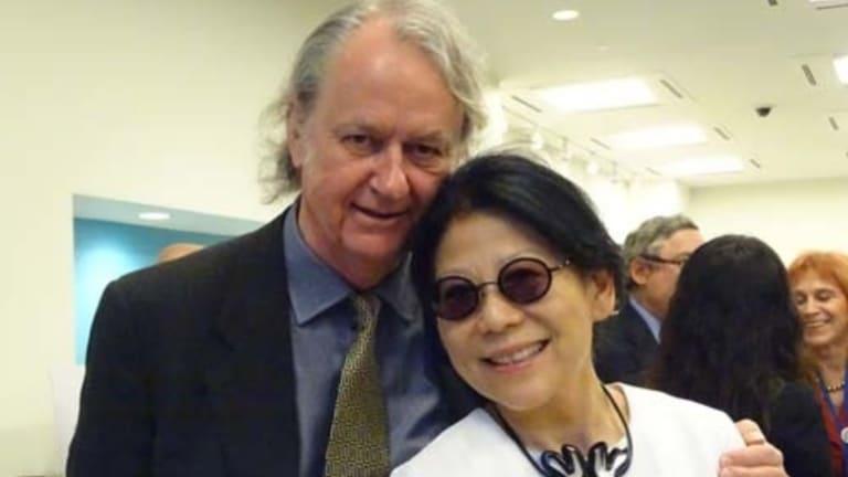Sheri Yan and husband Roger Uren